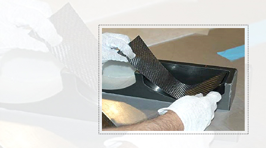 A tool for creating composite materials – a mold in action